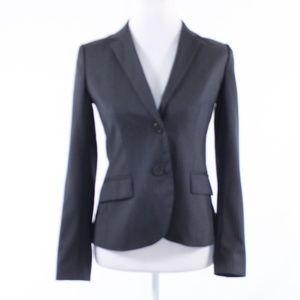 J.Crew gray wool blazer jacket 2